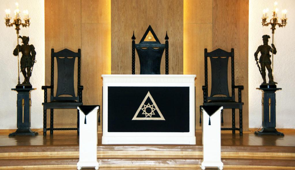 Riddare Templet Jämteborg Ordenssal