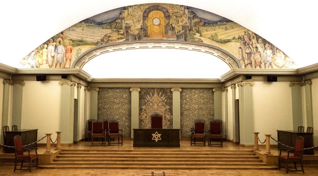 Riddare Templet Veritas Borås Tempelsal