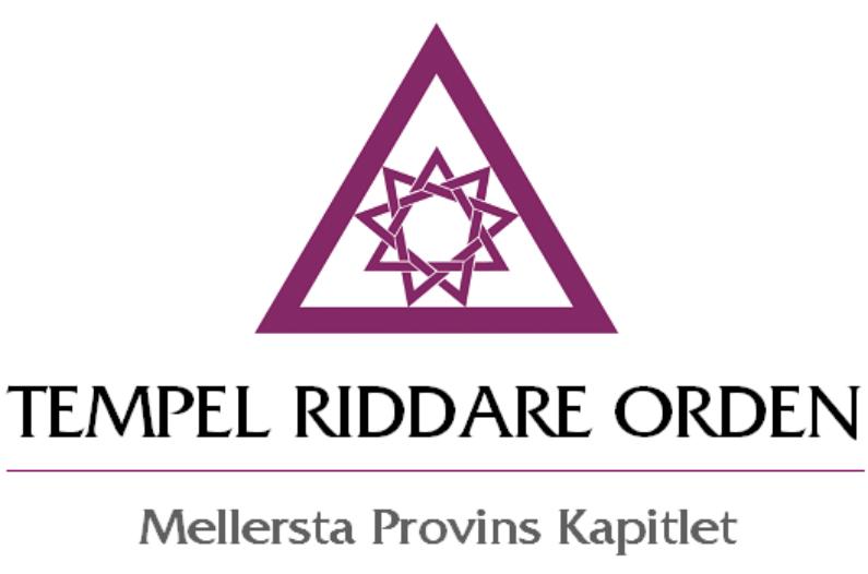 Tempel Riddare Orden Mellersta Provins Kapitlet