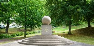 Tempel Riddare Orden monumentet i Gränna
