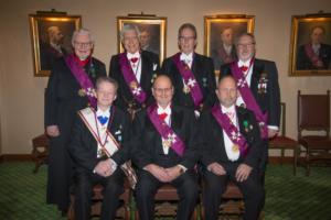 Mästare Rådet i Tempel Riddare Orden Riddare Templet Veritas i Borås 2018
