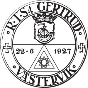 Sigill Riddare Templet S:ta Gertrud Västervik