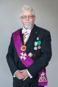 Stormästaren i Stortemplet för Danmark Leif Jensen