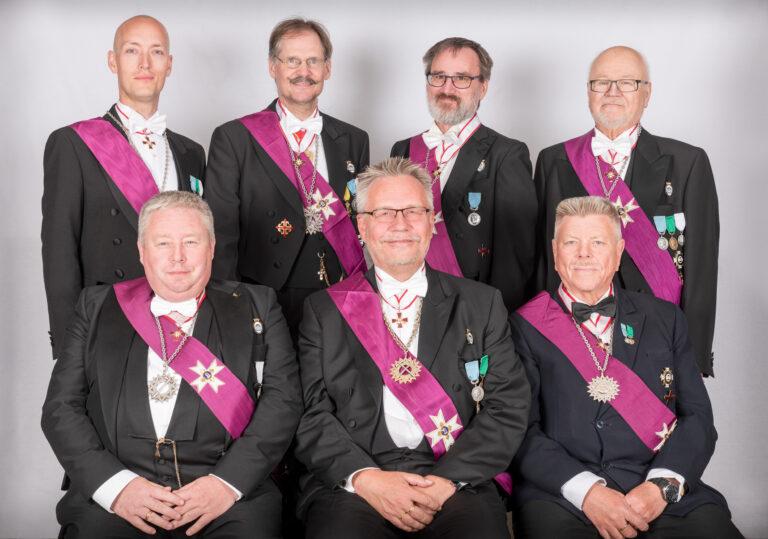 Provinskapitelmästarerådet i Mellersta Provinskapitlet av Tempel Riddare Orden