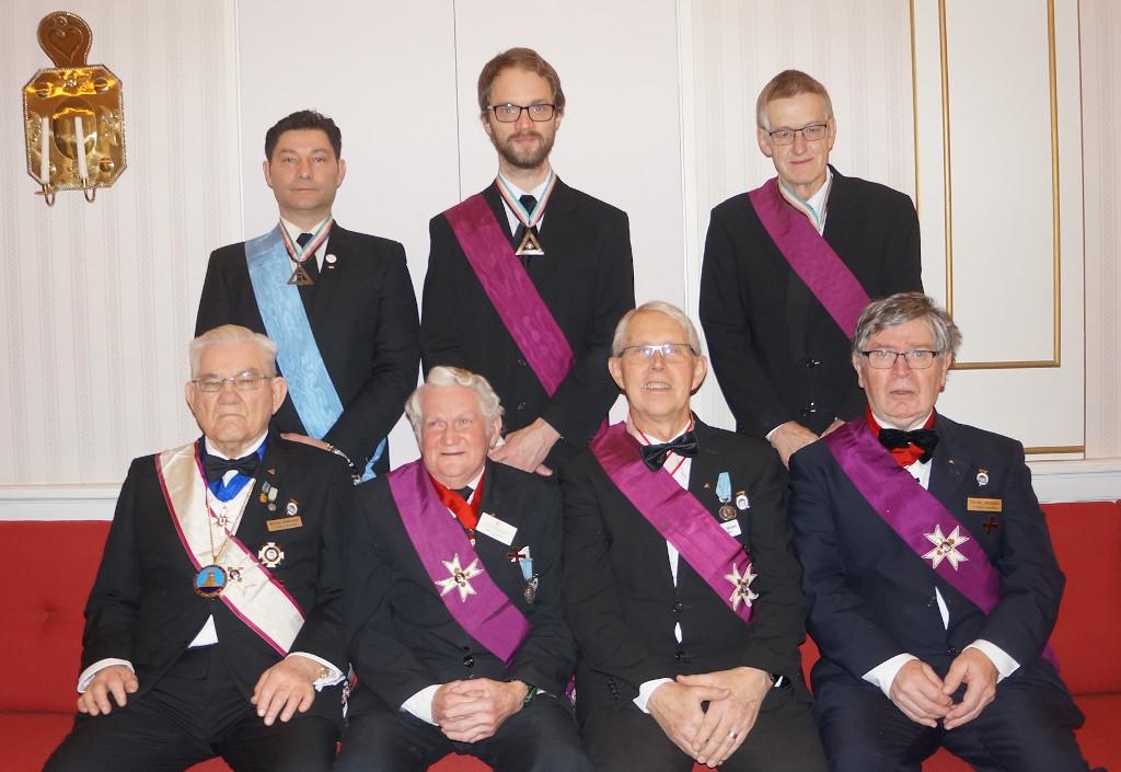 Mästare Rådet i Riddare Templet Hermes i Karlskrona av Tempel Riddare Orden 2020