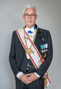 Stormästaren i Stortemplet för Sverige och Finland Mats Valli