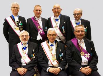 Stor Tempel Mästare Rådet i Stor Templet för Sverige och Finland av Tempel Riddare Orden