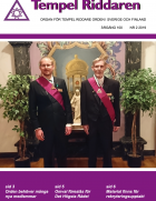 Tempel Riddare Ordens tidning Tempel Riddaren nr 2 2019