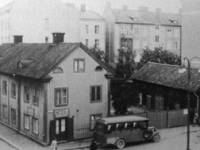 Tempel Linköping RT St Laurentius Historik Gammla Huset Vid Tanneforstorget