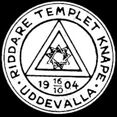 Tempel Uddevalla RT Knape Sigill